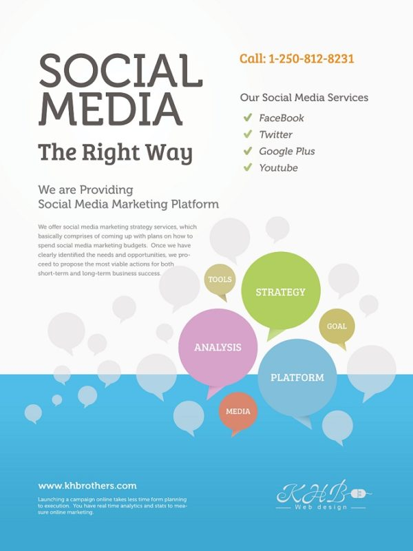 Social Media khb web design