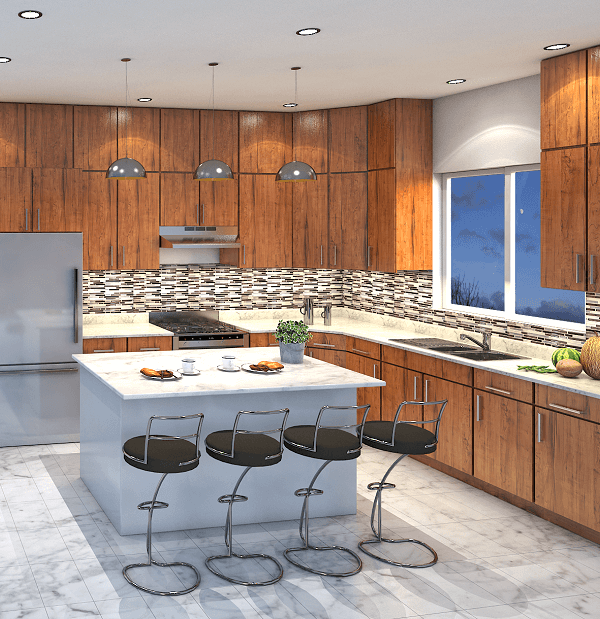 KHB web design 3d kitchen