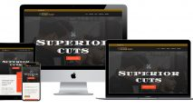 KHB Web Design-Langford Barber Shop